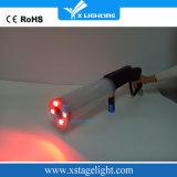 Efecto de etapa de DJ del arma del CO2 del RGB LED del arma del CO2 de DMX