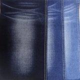 Tela azul marino del dril de algodón del estiramiento (T119)