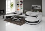 최신 판매 유럽 현대 거실 가죽 소파 (HC1127)