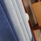 Cortinas 100% disponíveis duráveis da tela do apartamento do hotel do poliéster