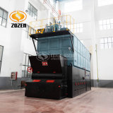 4t Horizotal Industrial corrente embalados caldeira de vapor da Grade