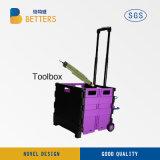 Neuer elektrischer Strom-Hilfsmittel-Set-Kasten im China-Ablagekasten Purple01