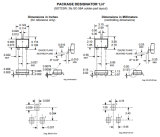 O circuito integrado do CI de Fect Salão-Ef Ultra-Sensitive comuta A3213elhlt-T