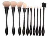 Cepillos al por mayor del maquillaje del conjunto completo del fabricante de la herramienta de los cosméticos con el pelo de nylon
