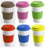 Tazas de café al por mayor de la porcelana 15oz sin la maneta
