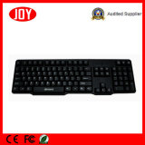 PC Wired Multimedia Chocolate Árabe USB Keyboard Djj318 para Windows