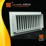 高品質のアルミニウム換気の供給の空気グリルの単一の偏向