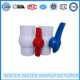 Válvula de esfera de PVC para o gasoduto do medidor de água