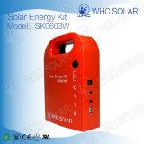 Whcの小型太陽系3Wの太陽エネルギーのホームキット