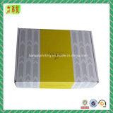 Cadre de empaquetage estampé par couleur de papier ondulé