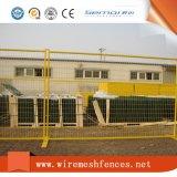 Загородка PVC Coated Канады высокого качества временно