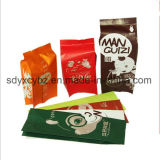 Sacchetto laterale approvato e formato personalizzato dello SGS del rinforzo di plastica/sacchetto impaccante