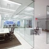 8mm 10mm 12mm Transparent en verre trempé pour la partition de bureau mur