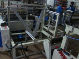 Automatische Dubbele PE van Lagen Rolling Zak die Machine maken (ssr-800)