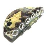 Cierres de camuflaje de 6 LED linterna luces del casquillo de manos libres