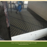La película caliente de la prensa de 2 veces hizo frente a la madera contrachapada para la construcción