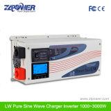 reine Wellen-Sonnenenergie-Aufladeeinheits-Inverter des Sinus-500W~8000W mit LCD-Bildschirmanzeige, Impulsverlustleistung 3times