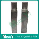 Novo produto personalizado perfurador quadrado de metal de precisão com cabeça oval