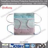 Maschera di protezione non tessuta a gettare della mascherina medica con il legame o Earloop