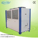 Refrigerador de água refrigerado a ar com compressor duplo para máquina de injeção