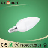 屋内のためのCtorch SMD 6W C37 LEDの蝋燭の電球ランプ
