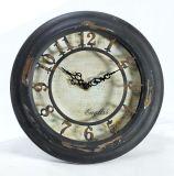 Reloj de pared del metal para la decoración casera