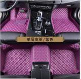 Type du jaguar F couvre-tapis 2015 de véhicule 5D XPE en cuir