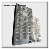 Custodia di filtro di alluminio lavorante di CNC, pezzo meccanico