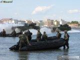 Barco militar del barco de la travesía (FWS-M)
