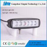 9-60V CREE 18W, luz del punto de 27W LED/luz del trabajo con vida útil larga