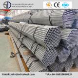 Tubos galvanizados de la estructura de acero del soldado enrollado en el ejército de la INMERSIÓN caliente Q195/235 para el material de construcción del invernadero