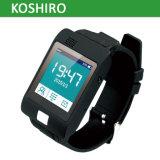 Monitor elegante de la presión arterial del ritmo cardíaco del reloj