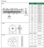 400W Smaj5.0A diodes TVS/ca~Smaj440A/AC avec RoHS et d'atteindre