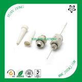 Conector de empalme de 5/8 pines para cable Qr540 Conector CATV