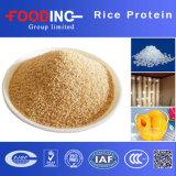 Pó natural da proteína do arroz integral de 100% com certificado Kosher