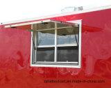 Massa rebocável moderno Trailer alimentar/Restauração reboques para venda
