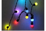 IP44丸いボール着色された変更LED妖精ストリングライト