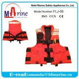 Cor vermelha jaqueta de vida de pesca colete flutuante