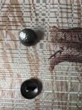 Fashion alliage métallique à coudre le bouton de queue de fixation