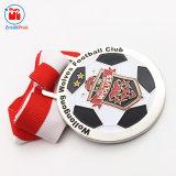 Mestiere olimpico del metallo della medaglia del randello di gioco del calcio del metallo del ricordo
