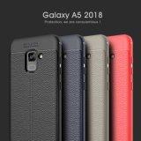 Samsung A5 2018년을%s 연약한 TPU 케이스 매우 얇은 Lichee 패턴 셀룰라 전화 덮개