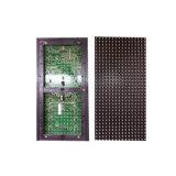 Módulo branco do diodo emissor de luz dos produtos P10 16X32 de China, enrolando o painel de indicador do diodo emissor de luz da mensagem de texto