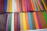 Couro sintético gravado da textura de Napa para sapatas, sacos, mobília (HS-Y13)