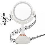 Светодиод горит музыкальный зеркало для макияжа с Bluetooth динамик