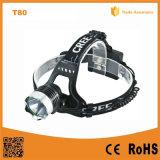 10W CREE Xm-L de aluminio faros LED T6
