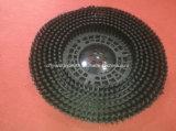 Lavar el piso de color negro cepillo redondo (AA-730)