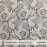 Tissu en nylon doux de la Dentelle par la cour de triage (M1007)