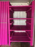 Alta qualità canadese rivestita della serratura della polvere di colore rosa dell'armatura del blocco per grafici di puntellamenti