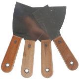 Hohes Polieraufbau-Kitt-Messer-Hilfsmittel mit hölzernem Griff