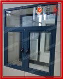 Qualitäts-Aluminiumflügelfenster-Fenster (Ende der Puder-Beschichtung/Anodizing/PVDF)